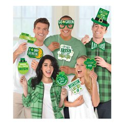 St. Patrick's Day - Witzige Fotorequisiten Photo Booth Set