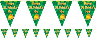 Happy St Patrick's Day - Girlande 3,65m