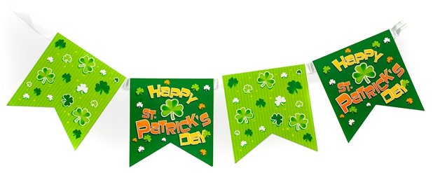 St. Patrick's Day - Girlande 4m