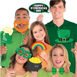 St Patrick's Day Fotorequisiten