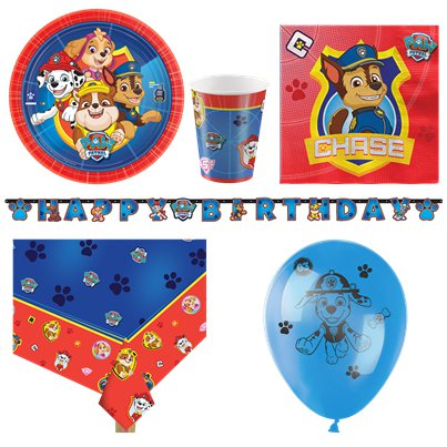Paw Patrol - Premium Party-Set - Für 8 Personen