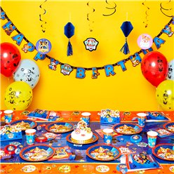Paw Patrol - Super Deluxe Party-Set - Für 8 Personen