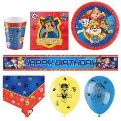 Paw Patrol - Premium Party-Set - Für 16 Personen