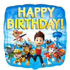 Paw Patrol - Happy Birthday Folienballon 46cm