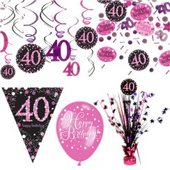 40 Geburtstag Dekorationen Party City At