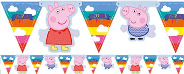 Peppa Wutz - Girlande