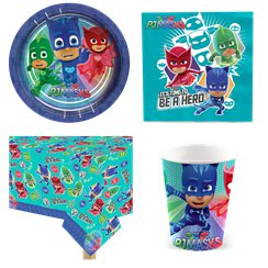 PJ Masks - Party-Set - Für 8 Personen