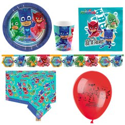 PJ Masks - Premium Party-Set - Für 8 Personen