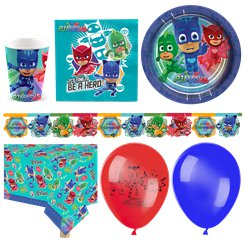 PJ Masks - Premium Party-Set - Für 16 Personen