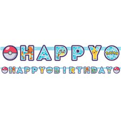 "Pokémon - ""Happy Birthday""-Girlande 2,1m"