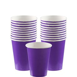 Violette Pappbecher 266ml