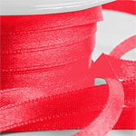 Rotes Satinband (25 m x 6 mm Rolle)