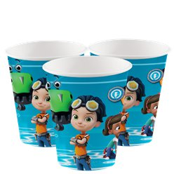 Rusty Rivets - Pappbecher 250ml