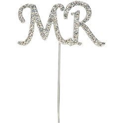"""Mr""-Partypicker mit Strass"