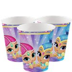 Shimmer & Shine - Pappbecher 266ml