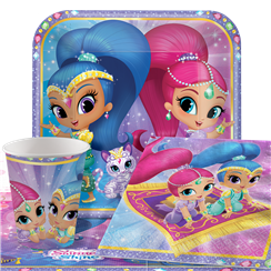 Shimmer & Shine - Party-Set - Für 8 Personen
