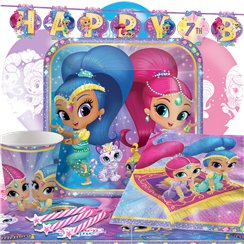 Shimmer & Shine - Premium Party-Set - Für 8 Personen