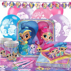 Shimmer & Shine - Premium Party-Set - Für 16 Personen