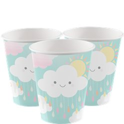 Kleine Wolke Baby Shower - Pappbecher 256ml