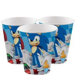 Sonic The Hedgehog - Pappbecher 266ml