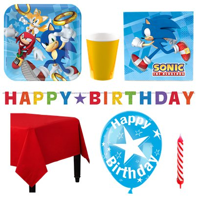 Sonic The Hedgehog - Premium Party-Set - Für 8 Personen