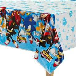 Sonic The Hedgehog - Plastiktischdecke 1,3m x 2,4m