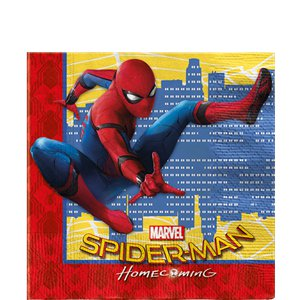 Spider-Man Homecoming - Papierservietten 2-lagig 33cm