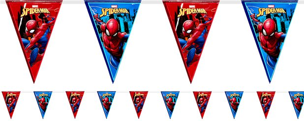 Spiderman - Girlande 2,3m