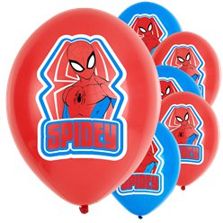 "Spiderman - ""Spidey"" Luftballons aus Latex 28cm"