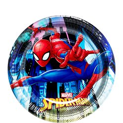 Spiderman - Pappteller 19,5cm