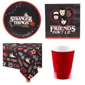 Stranger Things - Party-Set