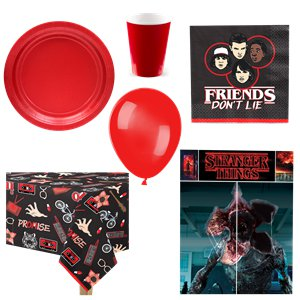 Stranger Things - Premium Party-Set