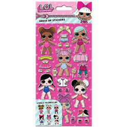 LOL Surprise - Dolls mit Outfits Sticker
