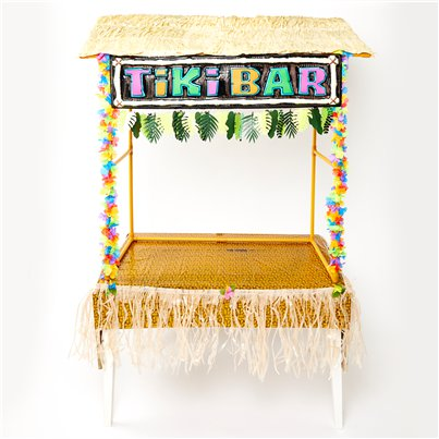 Tiki-Bar - Deko-Set Premium