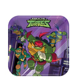 TMNT Ninja Turtles - Pappteller 18cm