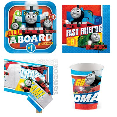 Thomas die kleine Lokomotive - Party Deko Set - Für 8 Personen