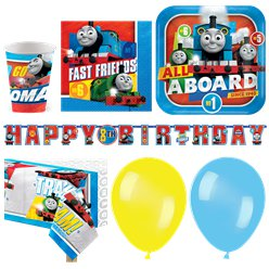 Thomas die kleine Lokomotive - Premium Party-Set - Für 16 Personen