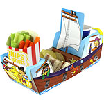 Piratenschiff Kombi-Snaclbox 26cm lang