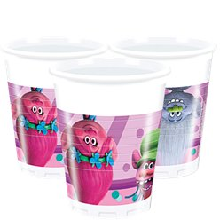 Trolls - Plastikbecher 200ml