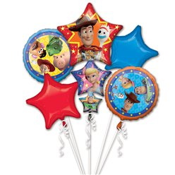 Toy Story 4 - Ballon-Bouquet Set