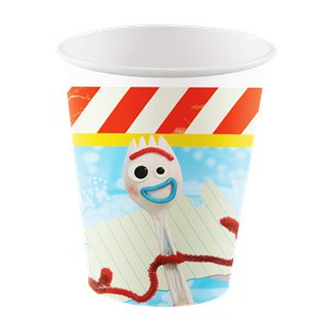 Toy Story 4 - Pappbecher 266ml