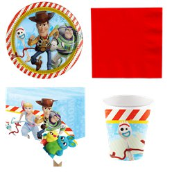 Toy Story 4 - Party-Set - Für 8 Personen