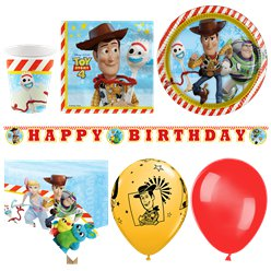 Toy Story 4 - Premium Party-Set - Für 16 Personen