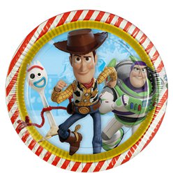 Toy Story 4 - Pappteller 23cm