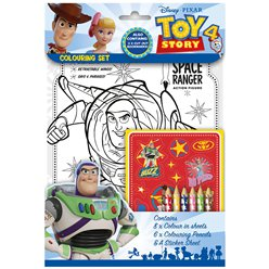 Toy Story 4 - Ausmal-Set