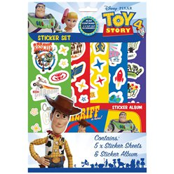 Toy Story 4 - Sticker-Set