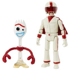 Toy Story 4 - Forky & Duke Caboom Actionfigur 18cm