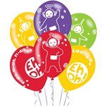 Teletubbies - bunte Luftballons aus Latex 28cm