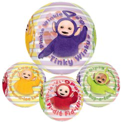 Teletubbies - Orbz Folienballon 38cm