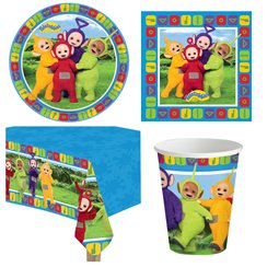 Teletubbies - Party-Set - Für 8 Personen